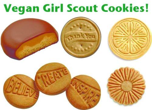 Scout Cookies Vegan