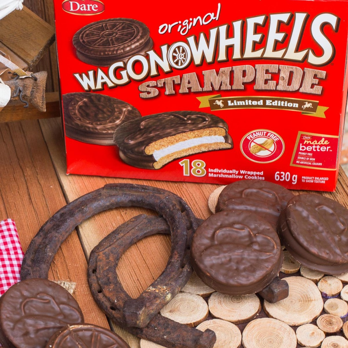Wagon Wheel Cookies