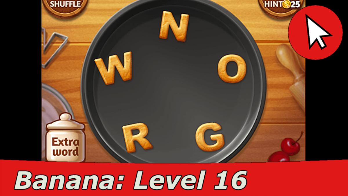 Word Cookies Banana 16 Answers