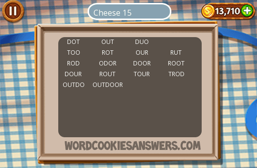Best Cheese 15 Word Cookies Image Collection
