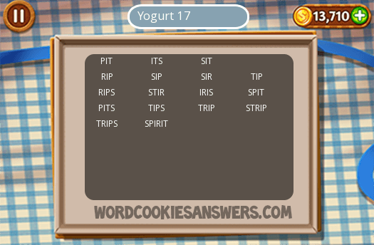 Best Word Cookies Yogurt 17 Answers Image Collection