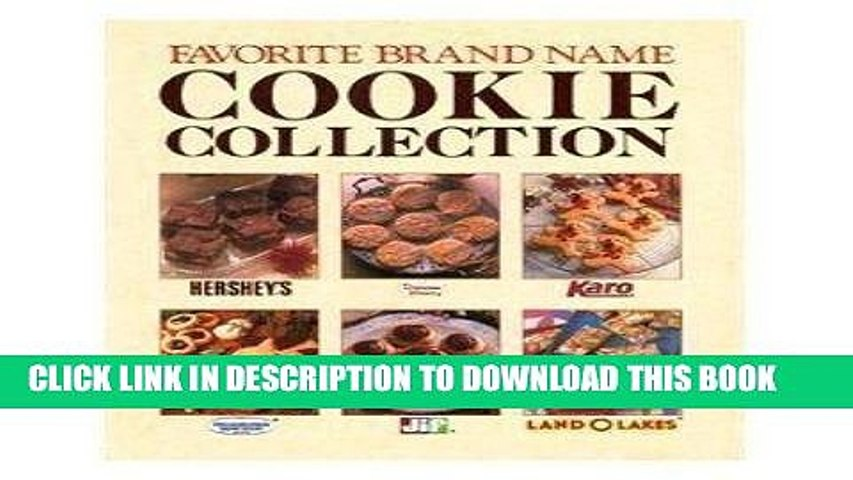 Pdf] Favorite Brand Name Cookie Collection Popular Online