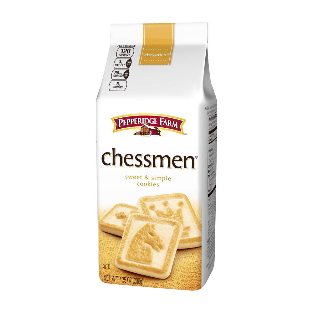 Chessmen® Butter Cookies