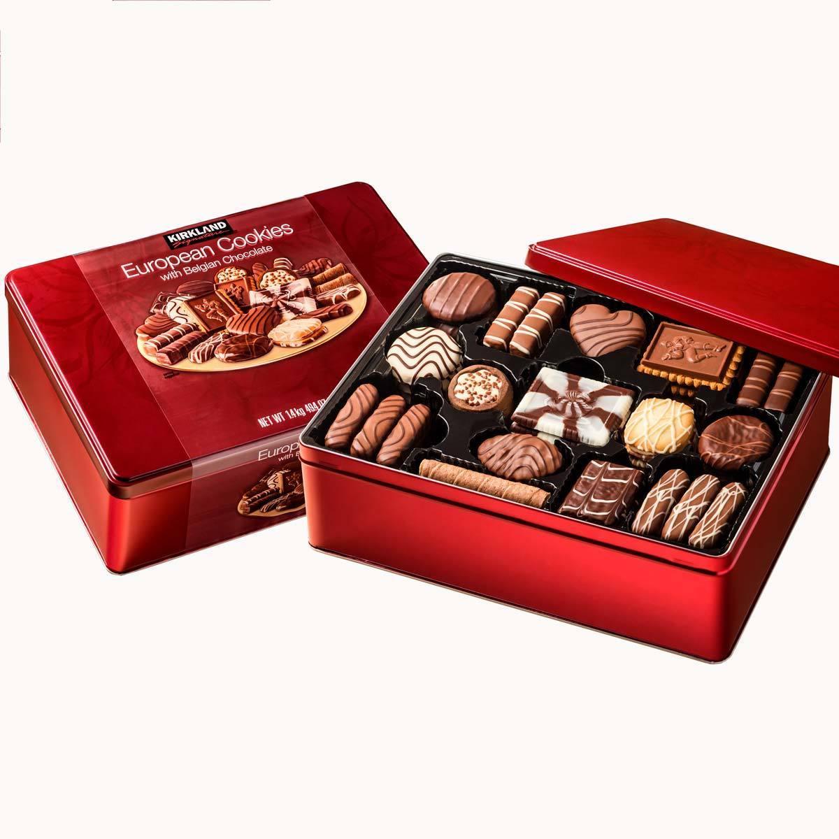 Kirkland Signature 1 4kg European Cookies With Belgian Chocolate