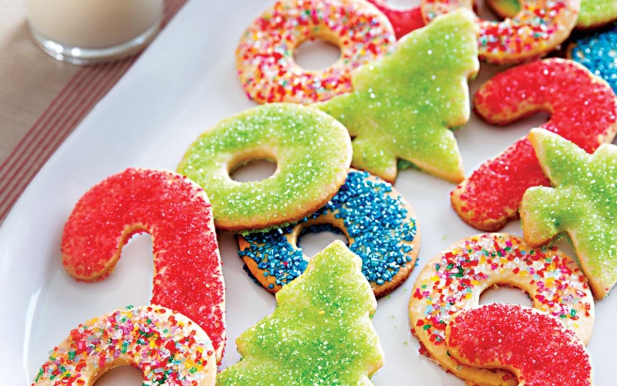 Lidia's Simple Sugar Cookies