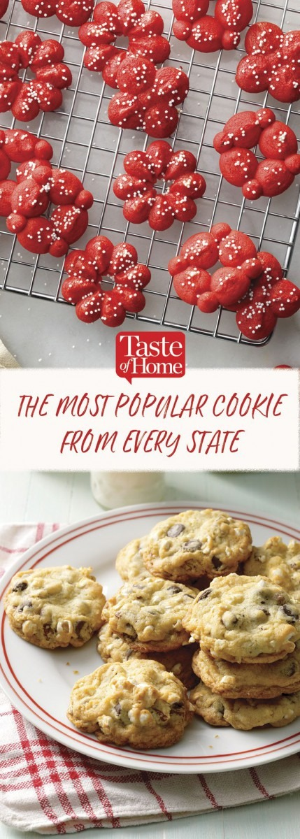 America's Best Cookies, State By State