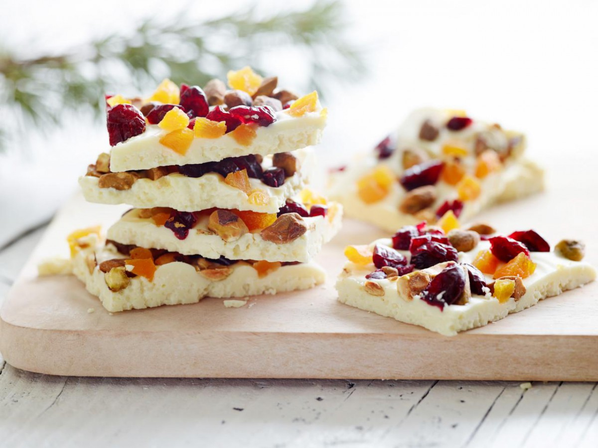 Ina Garten's White Chocolate Bark