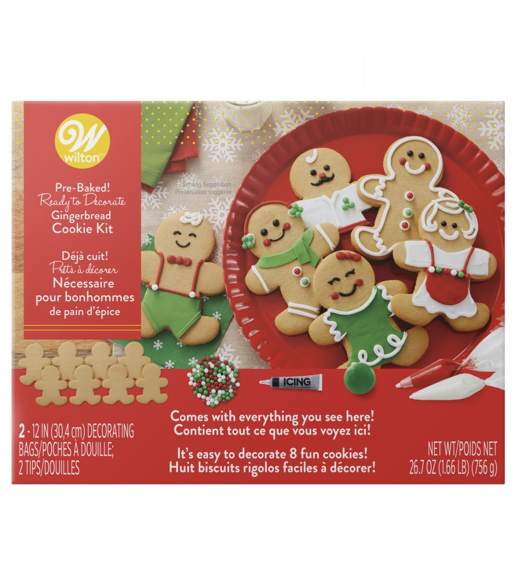 Wilton Cookie Kit Makes 8