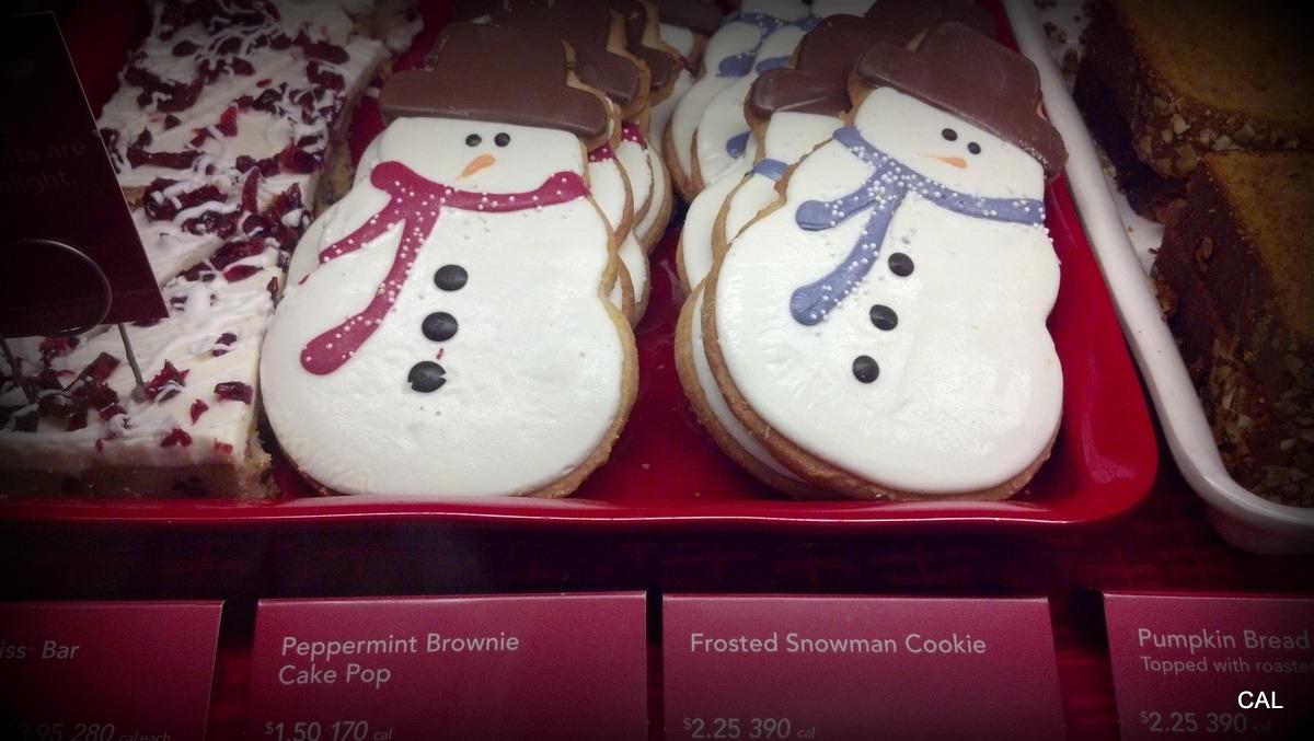 Starbucks Snowman Cookies