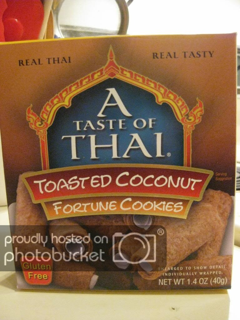 A Taste Of Thai Toasted Coconut Fortune Cookies Offers A Great