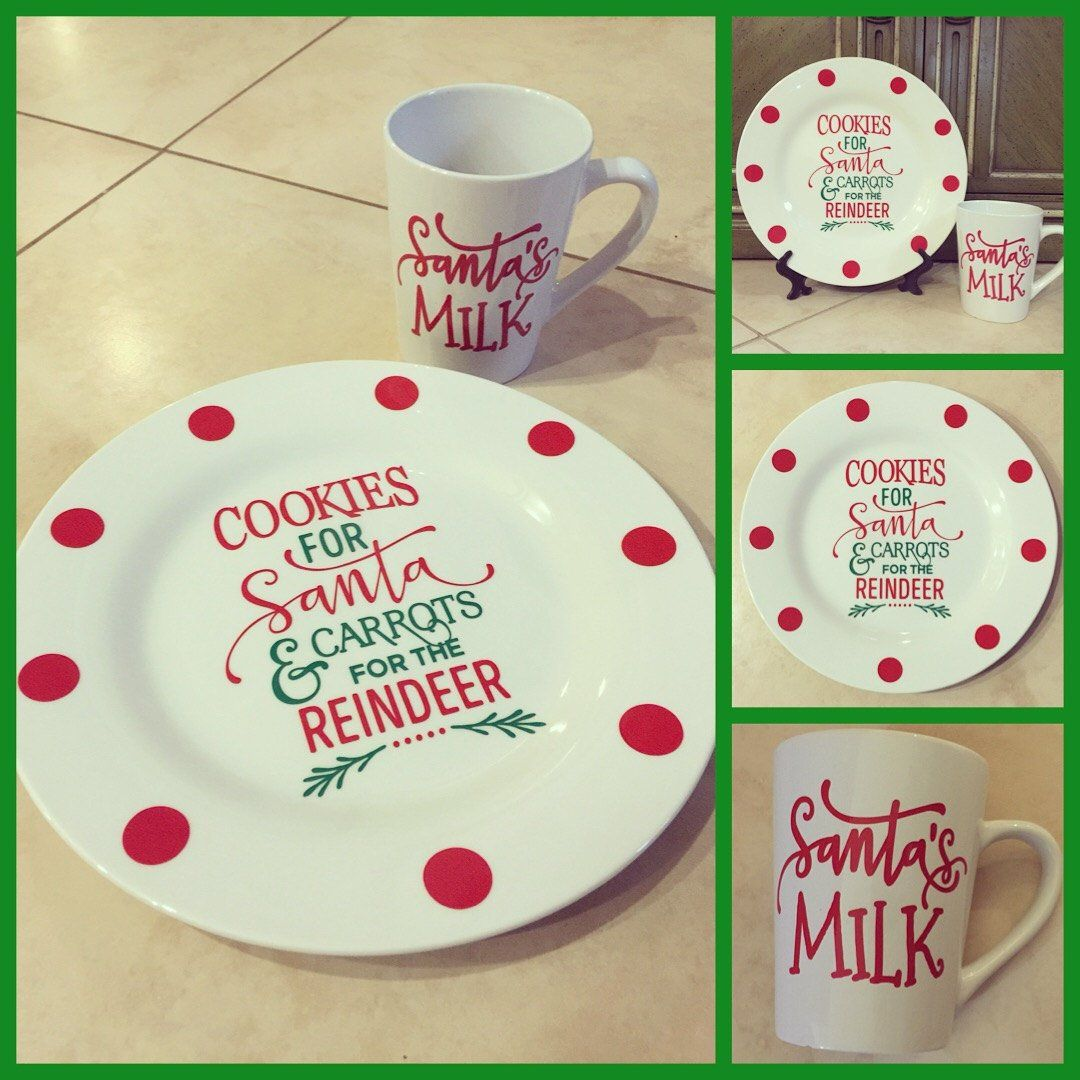 Cookies For Santa Plate And Mug Set