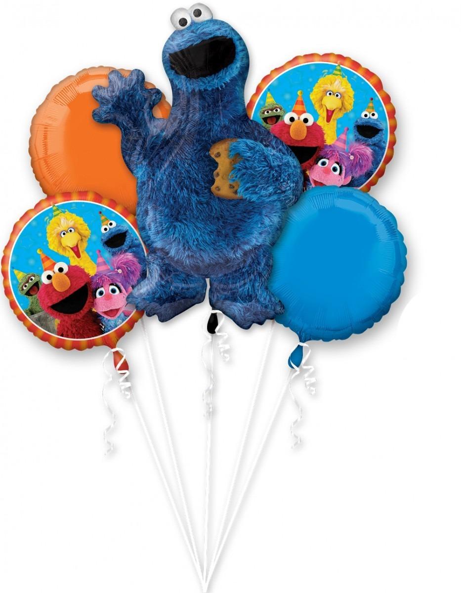 Cookie Monster Balloon Bouquet