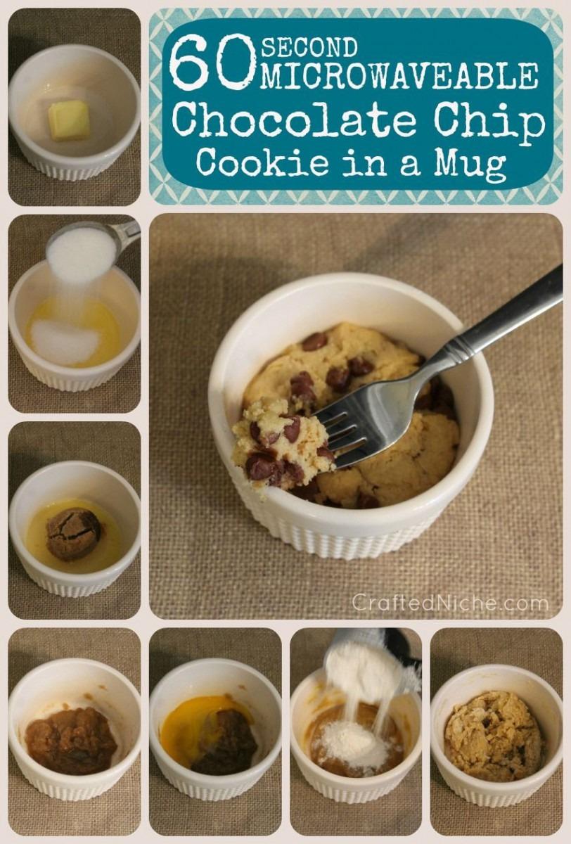 Choc Chip Cookie In A Mug