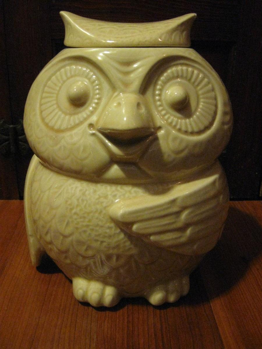 Vintage Mccoy Owl Cookie Jar