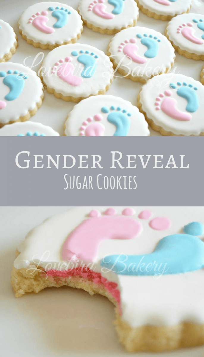 Gender Reveal Cookies Dozen (12) Baby Shower Favors Gifts