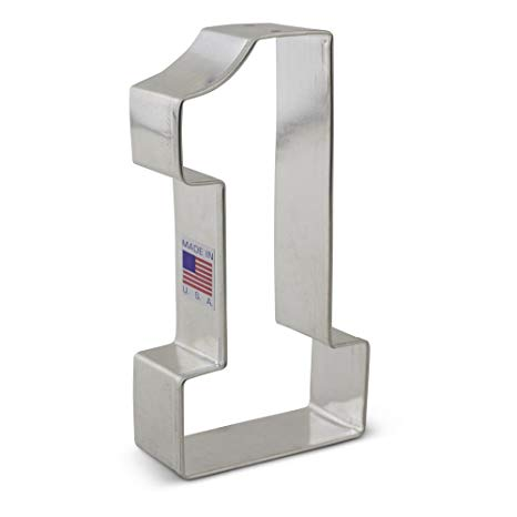 Buy Large Number One  1 Cookie Cutter