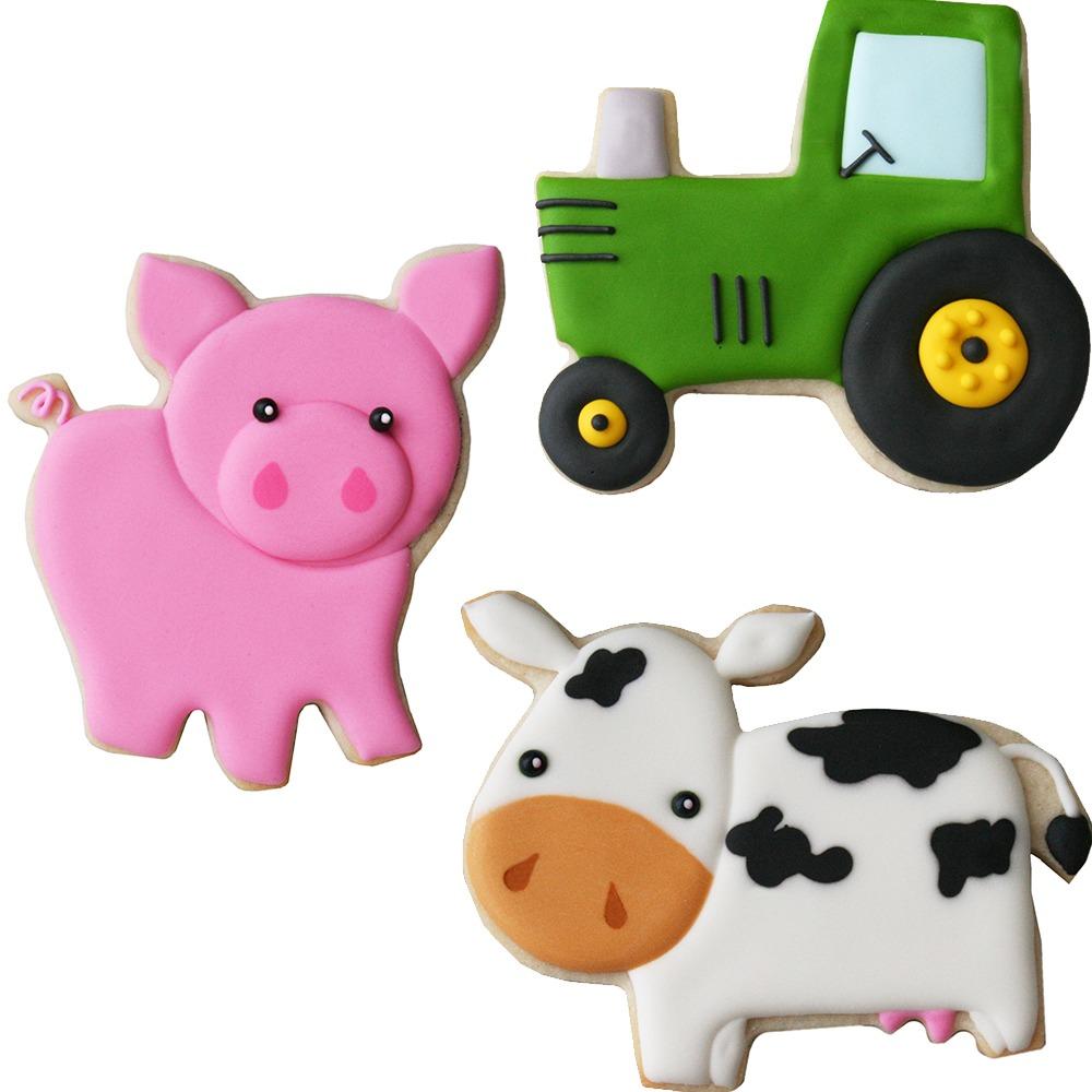 Farm Cookie Cutter Set 53