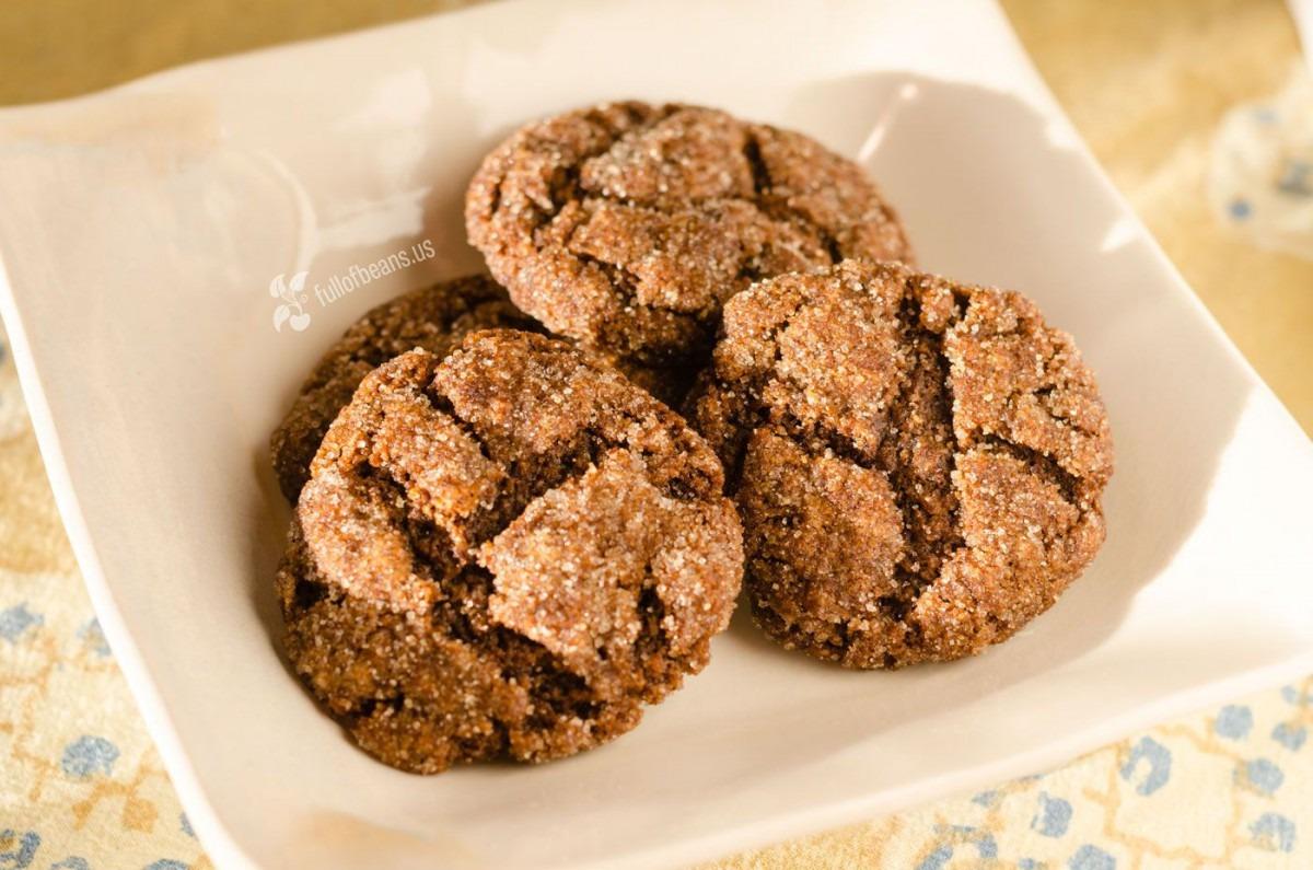 Vegan Molasses Cookies