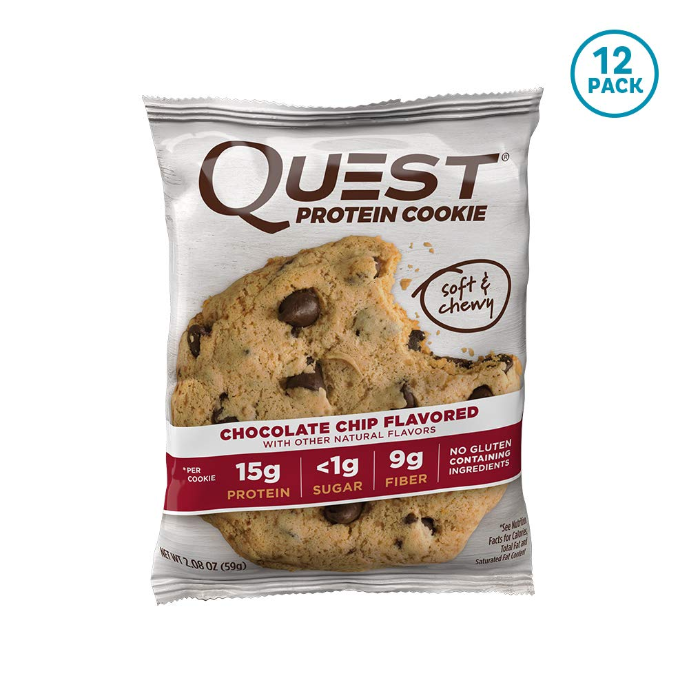 Amazon Com  Quest Nutrition Oatmeal Raisin Protein Cookie, High