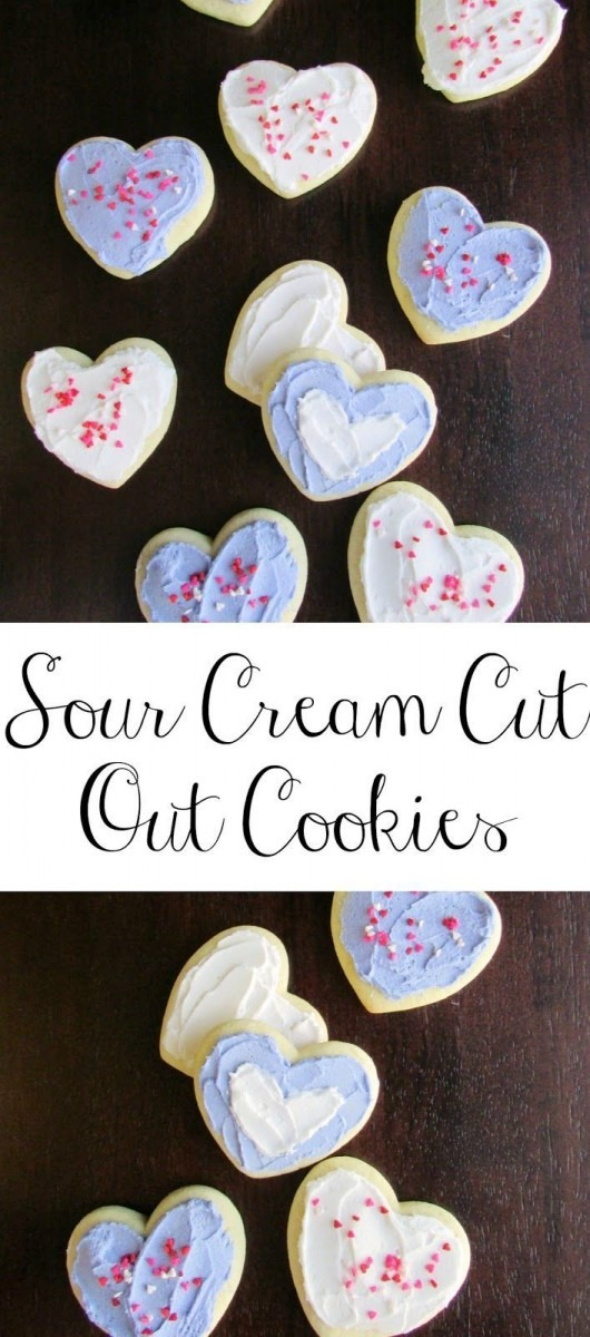 These Sour Cream Cut Out Cookies Are So Soft And Delicious  They