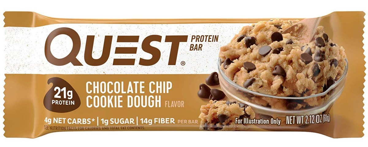 Amazon Com  Quest Nutrition Chocolate Chip Cookie Dough Protein