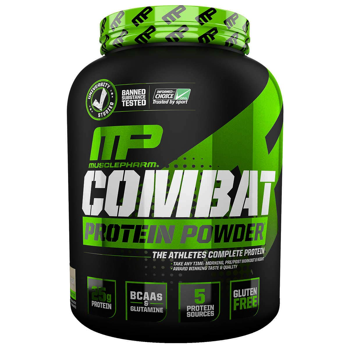 Muscle Pharm Combat Protein Powder 5lbs  Cookies And Cream