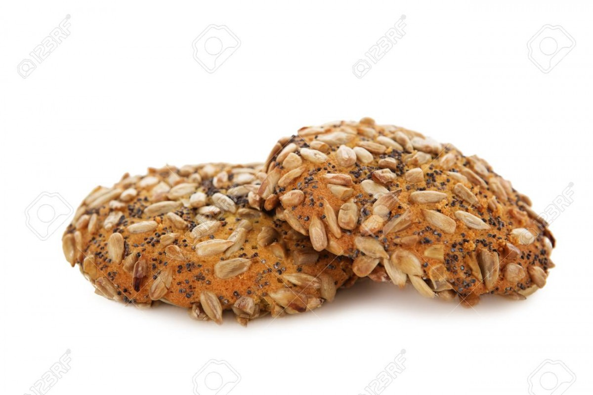 Oatmeal Cookies With Chocolate Poppy Seeds And Sunflower Seeds