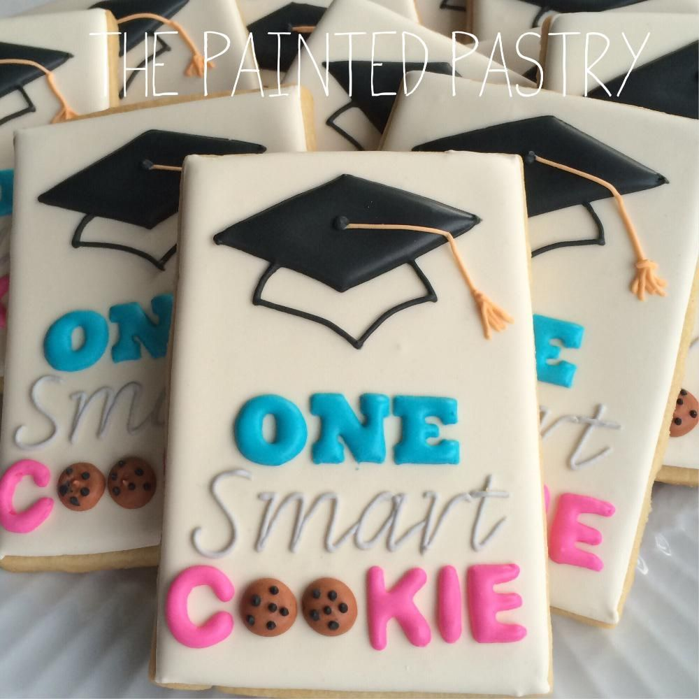 One Smart Cookie! Graduation Cookies