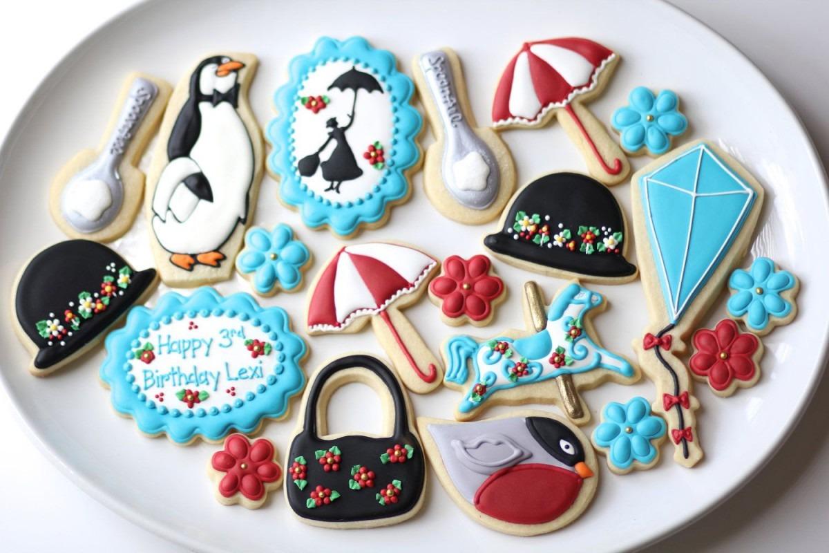 Mary Poppins Cookies (3 Dozen)  $100 00