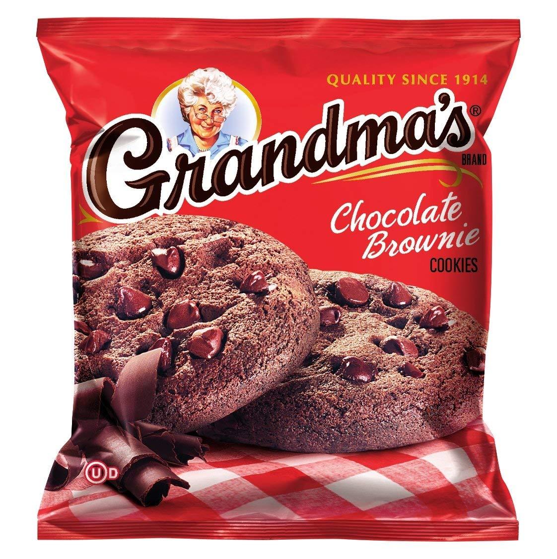 Grandmas Mini Cookies, Vanilla Crème, 3 71 Ounce  (pack Of 24