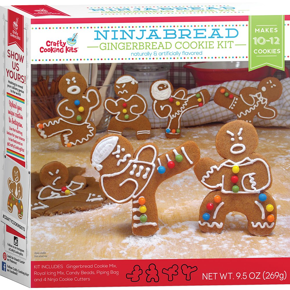 Amazon Com   In The Mix Gingerbread Cookie Kit, Ninja, 9 5 Ounce