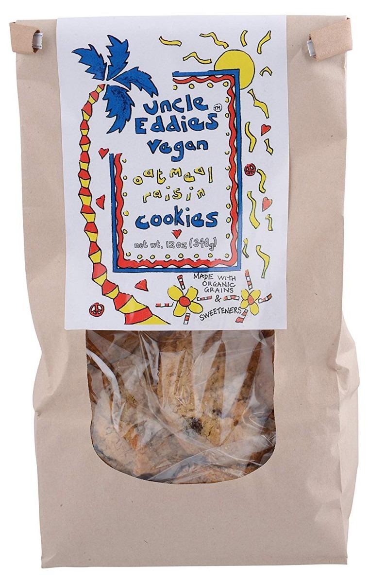 Amazon Com  Uncle Eddies Vegan Oatmeal Raisin Cookies