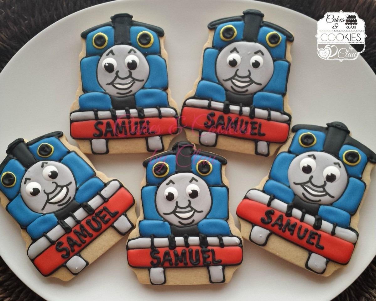 Thomas The Train Themed Cookies Www Cakesandcookiesbyclau Com