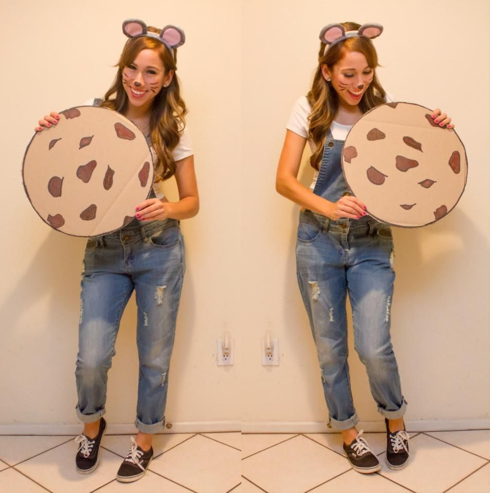 If You Give A Mouse A Cookie Costume  Diy  Halloween