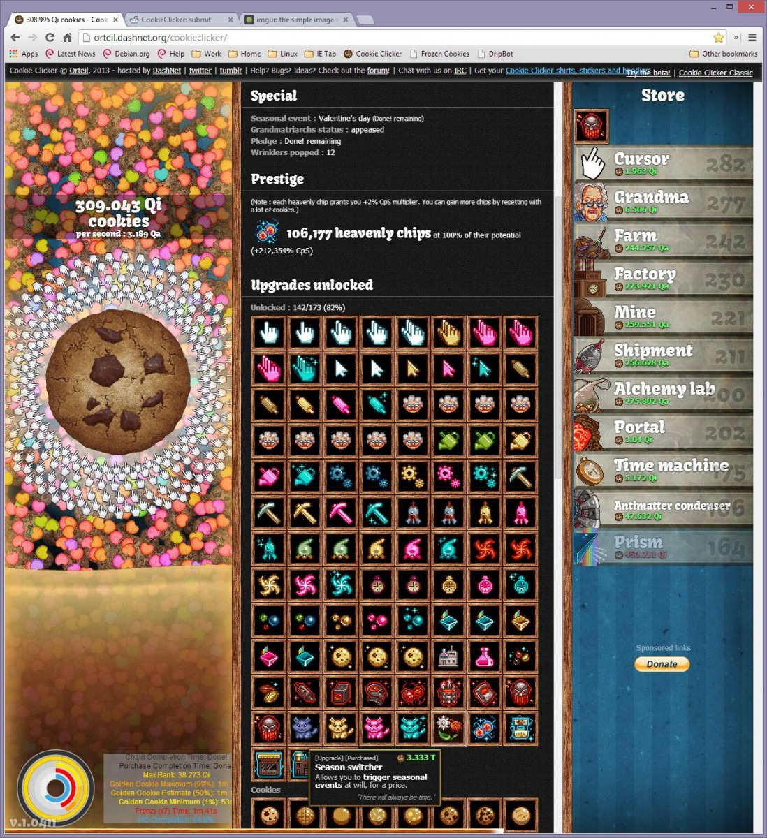 Valentines Day Cookie Clicker