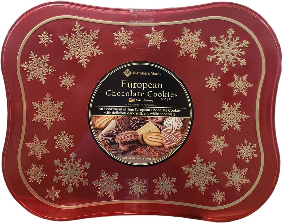 Amazon Com  Member's Mark European Chocolate Cookie, 49 4 Ounce