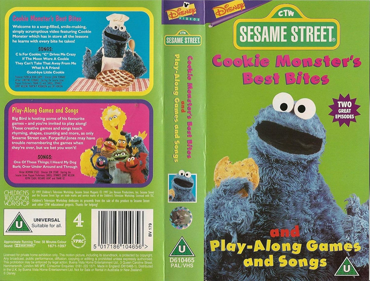 Sesame Street  Cookie Monster's Best Bites   Play