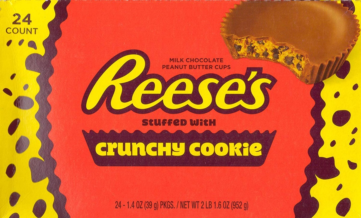 Amazon Com   Reese's Stuffed With Crunchy Cookie 1 4oz 24 Count