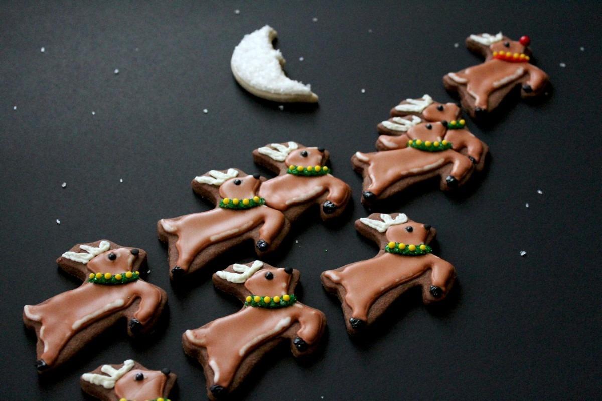 Worth Pinning  Reindeer & Sleigh Cookies