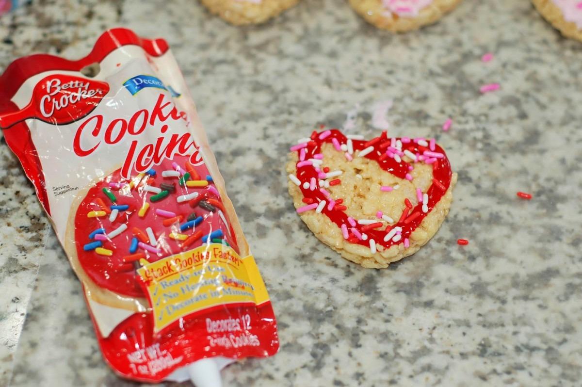 The Sweet Chick  Sugar Cookie Rice Krispie Treats