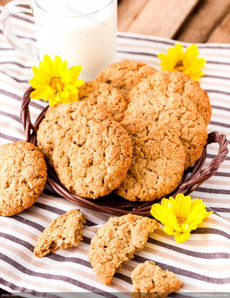 Diabetic Oatmeal Peanut Butter Cookies Recipe