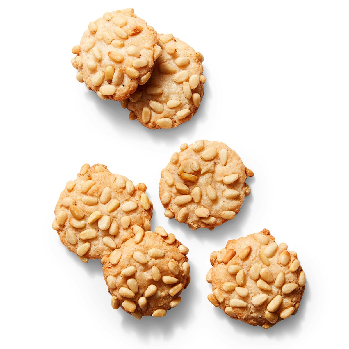 Easy Cookies With Almonds & Pine Nuts
