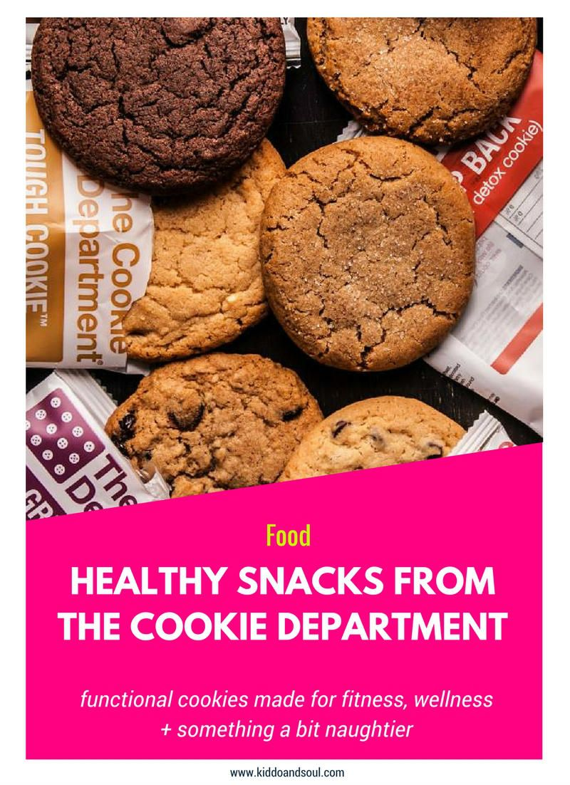Healthy Snacks From The Cookie Department