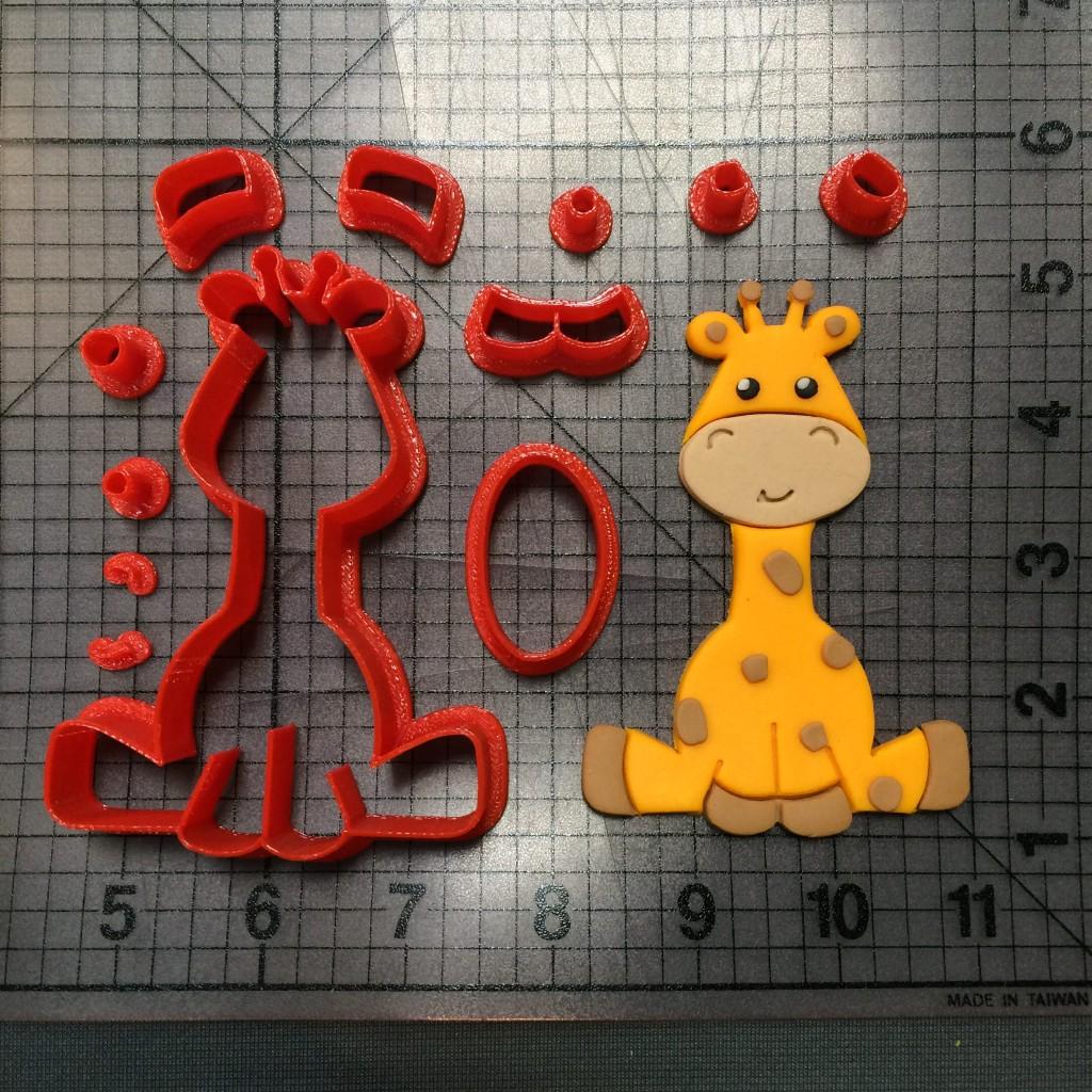 Baby Giraffe 101 Cookie Cutter Set