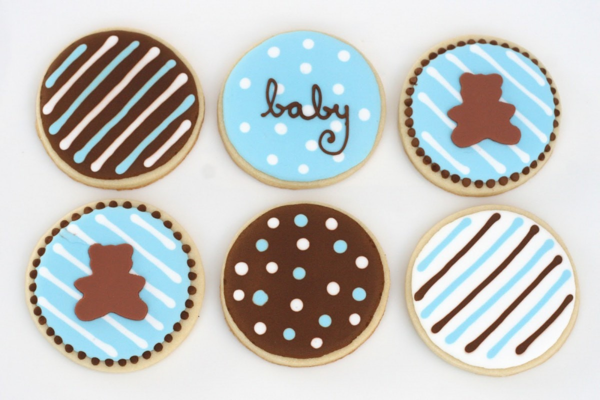 Contemporary Baby Shower Cookie Idea Treat Glorious Cutter Recipe