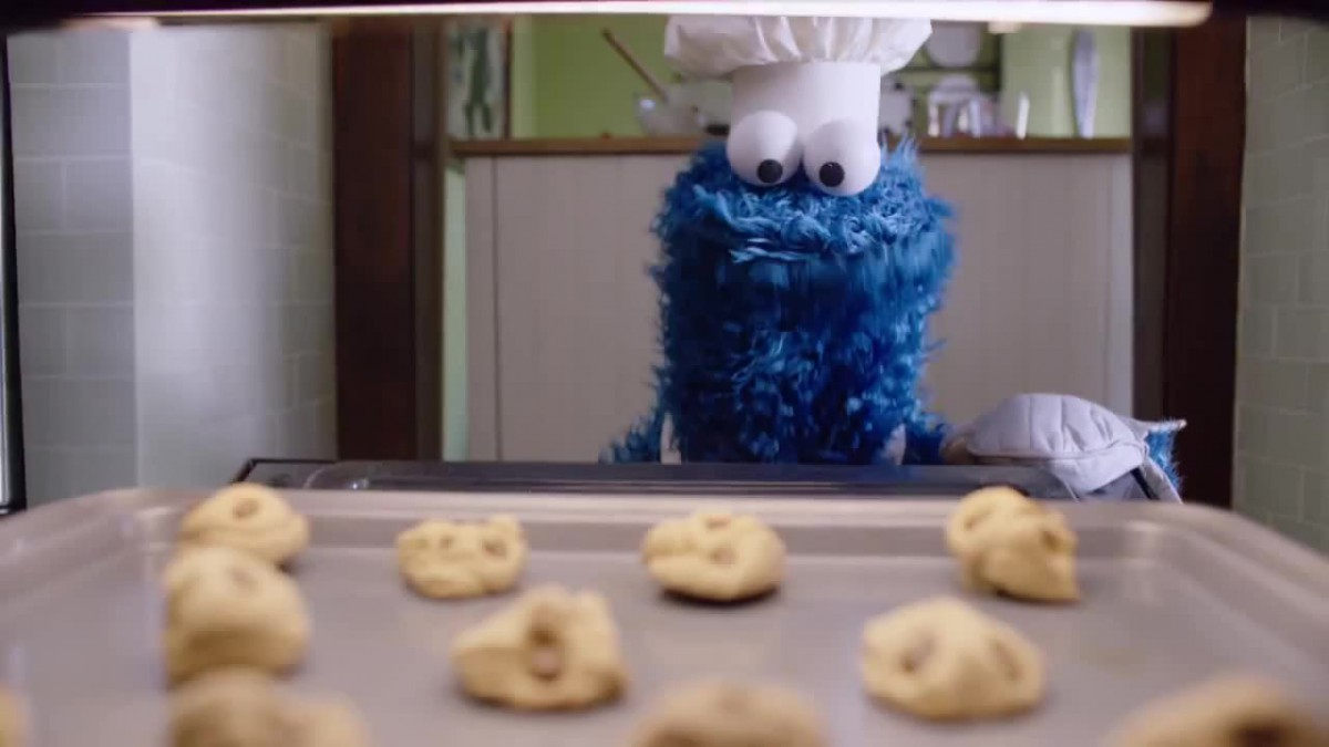 Cookie Monster Waiting For Cookie