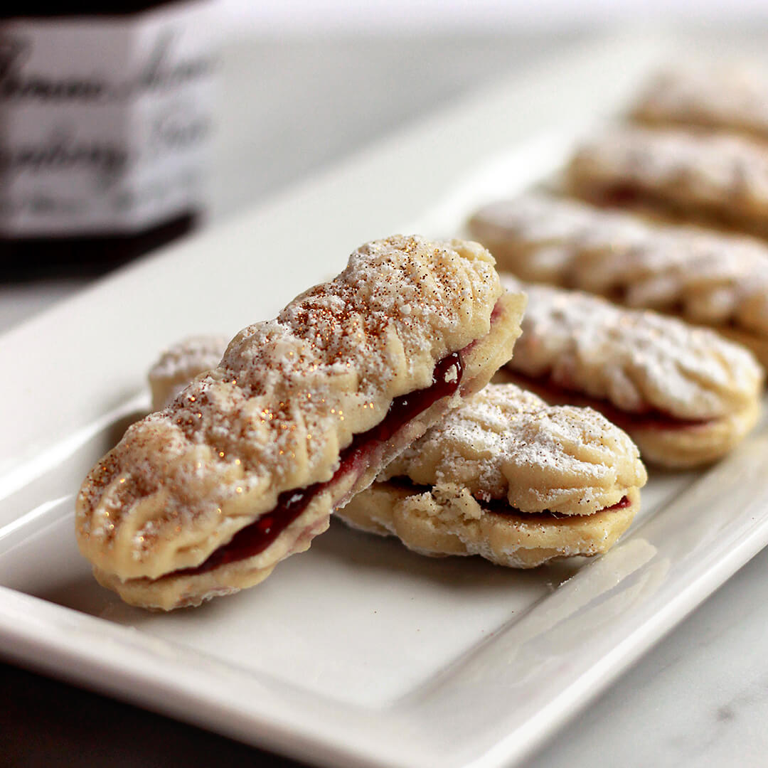 Italian Butter Cookie Sandwiches
