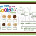 Girl Scout Cookies Order Form