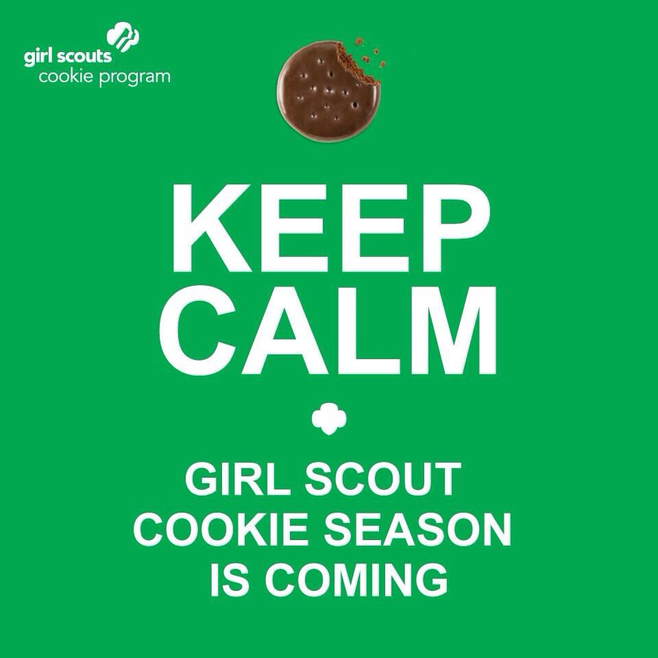 It's Almost Girl Scout Cookie Time! 👍
