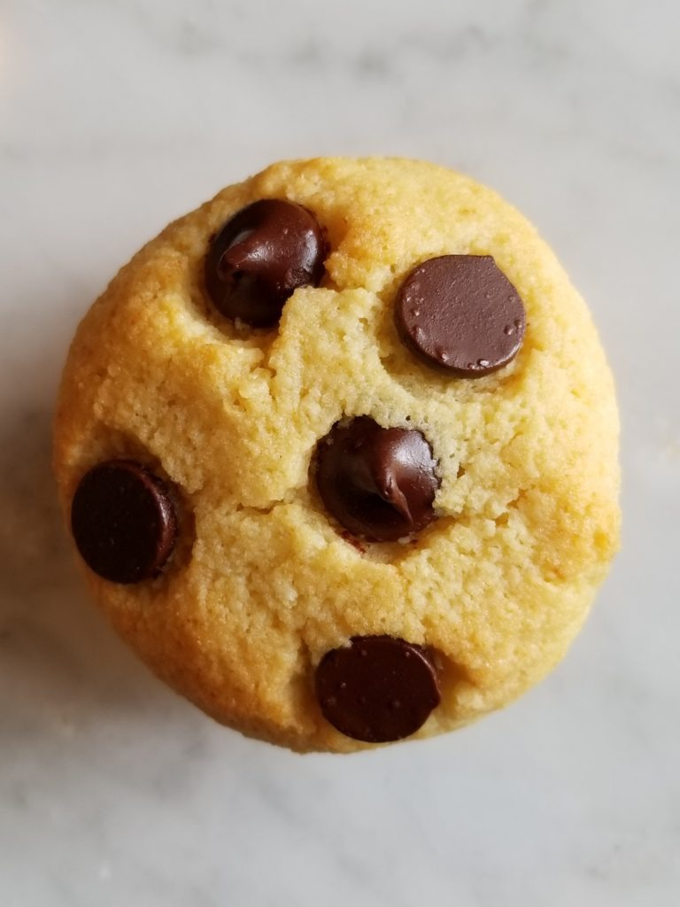 Cakey Chocolate Chip Cookies – Low Carb, Gluten Free – To Temptation